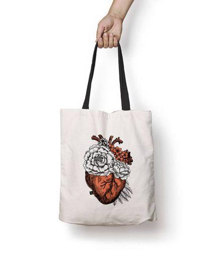 torba z sercem